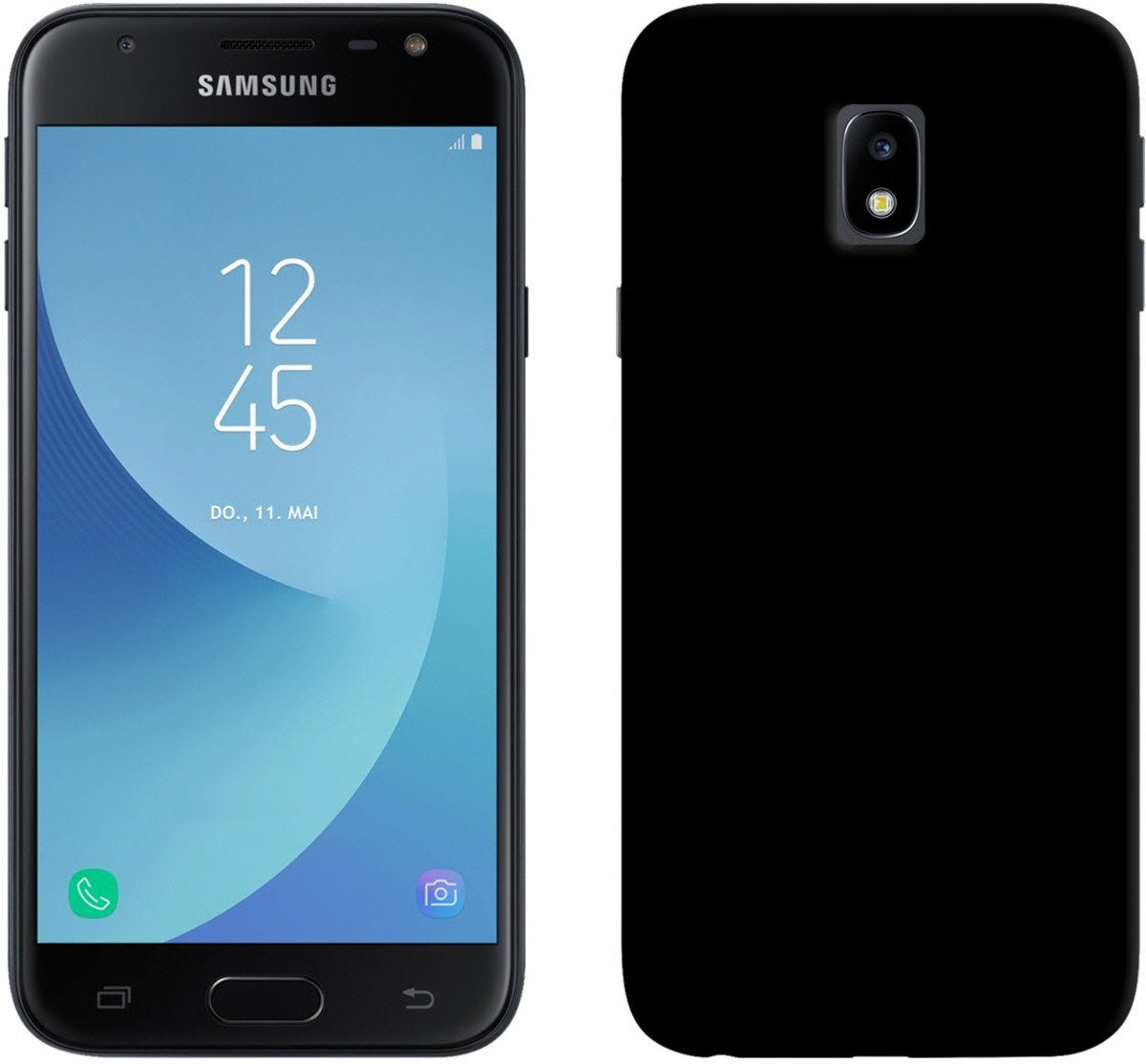 PEDEA Handytasche »Soft TPU Case Samsung Galaxy J5 2017«