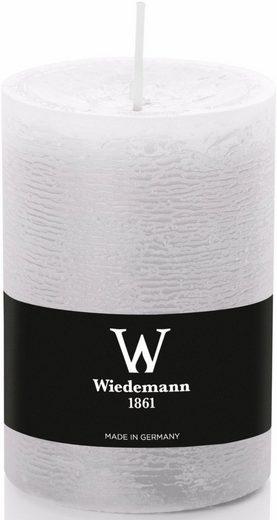 Wiedemann Stumpenkerze (Set, 8-tlg), mit Banderole, ca. Ø 6,8 cm