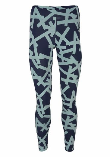 adidas Performance Leggings ESSENTIALS ALL OVER PRINT TIGHT, mit auffälligem Druck