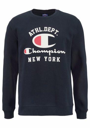 Champion Sweatshirt CREWNECK SWEATSHIRT, mit großem Logodruck