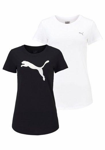 PUMA T-Shirt WOMENS TEE PACK, im Doppelpack