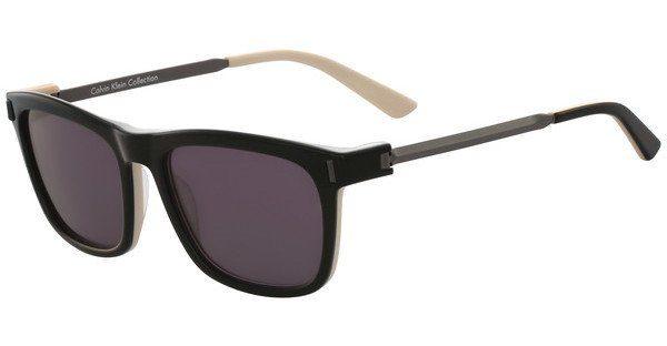 Calvin Klein Herren Sonnenbrille » CK8545S«, schwarz, 073 - schwarz/lila