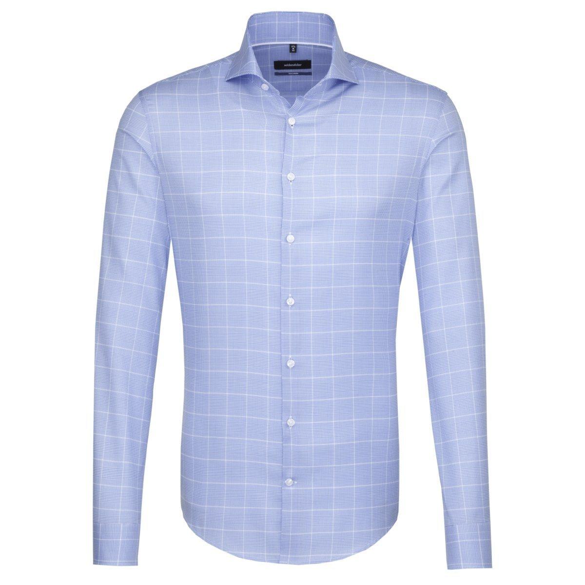 seidensticker Businesshemd »Tailored« Hai-Kragen