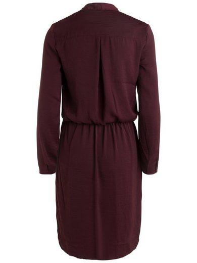 Pieces Langärmeliges Kleid