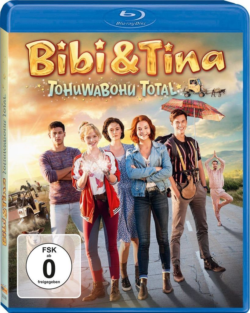 Kiddinx BLU-RAY Film »Bibi & Tina 4: Tohuwabohu total (Kinofilm)«