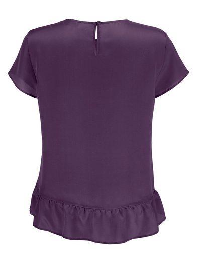 Alba Moda Blusenshirt Aus hochwertiger reiner Seide