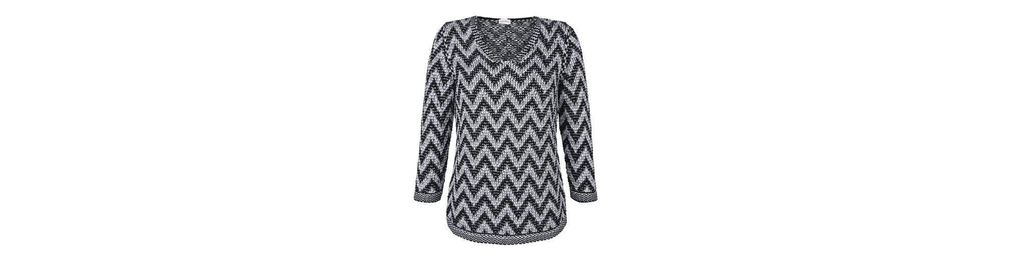 Bestpreis Bestes Großhandel Online Mona Pullover mit Zick-Zack-Muster Auf Heißen Verkauf Kostenloser Versand Spielraum Hohe Qualität A2i4Cb0