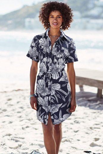 Next Hemdkleid aus Leinengemisch