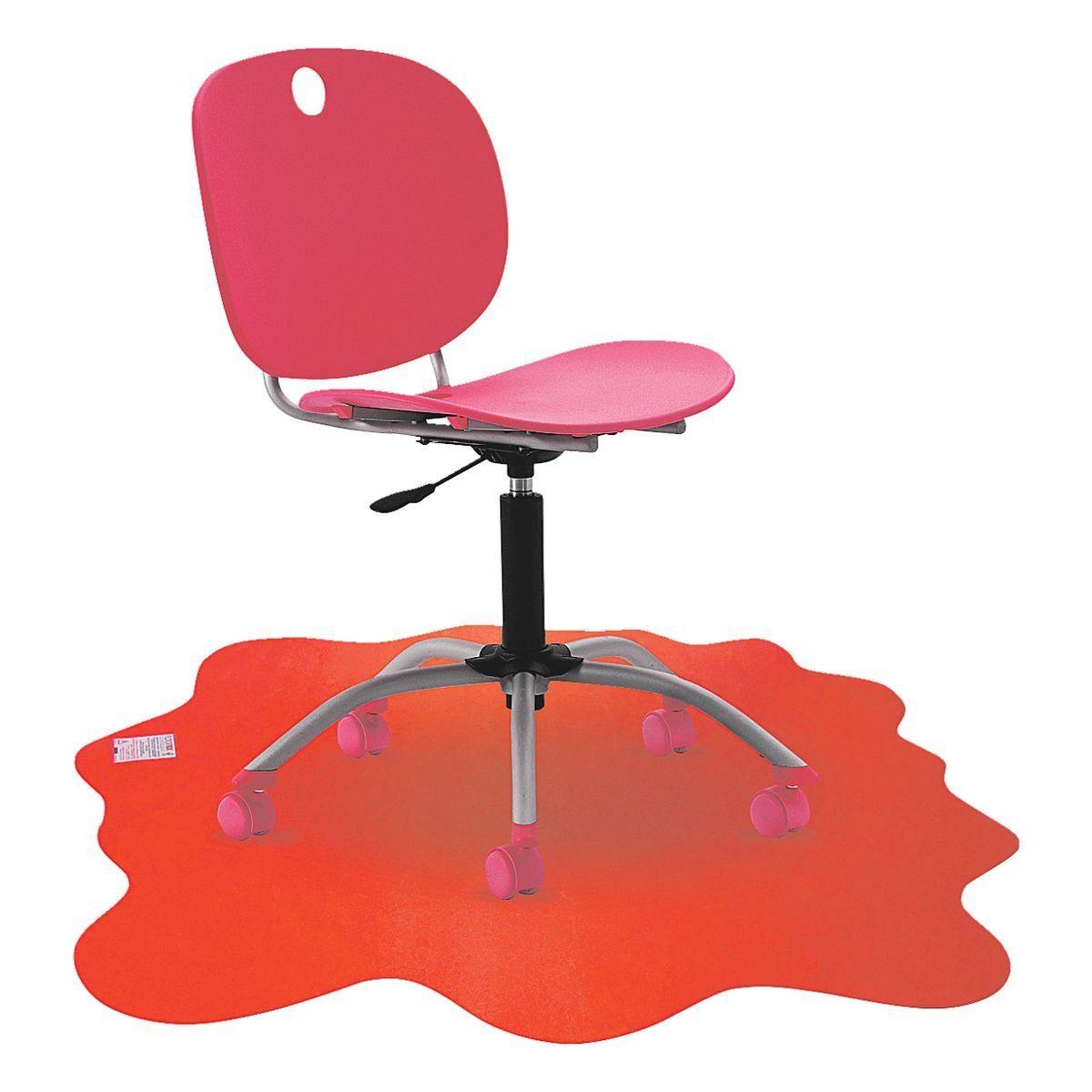 Floortex Bodenschutzmatte 100x100 cm Form Klecks für niederflorig... »Sploshmat«