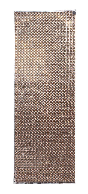 """VBS Straßsteine Folie """"Straß gold"""" 27 x 9 cm"""
