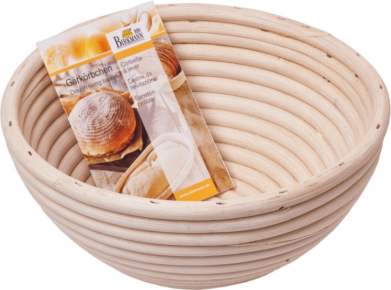 """Birkmann Gärkörbchen """"Rund"""" für Brot 700 g - 1500 g"""