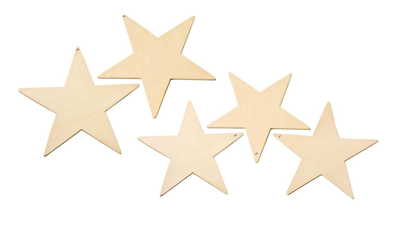 VBS Anhänger Sterne, 5er-Set