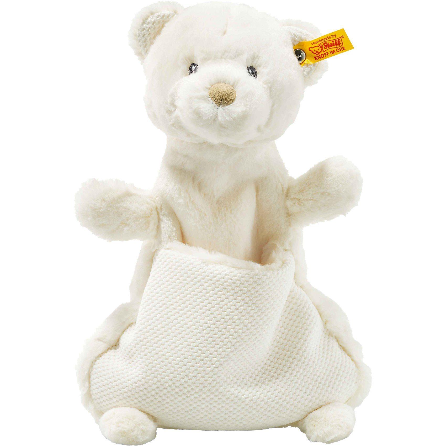 Steiff Giggles Teddybär Schmusetuch, creme