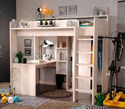 Hochbett erwachsene mit schrank  Hochbett online kaufen » Hochbett mit Treppe | OTTO