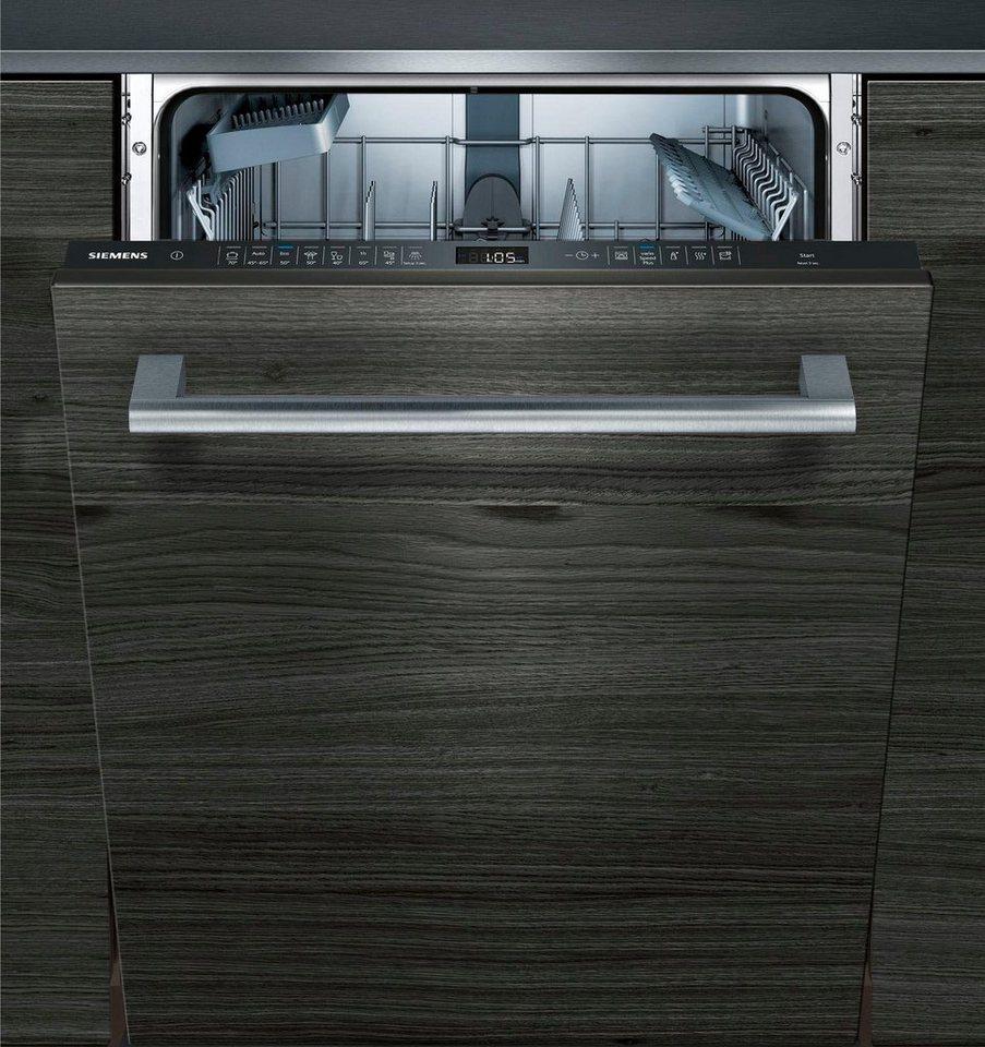 SIEMENS Vollintegrierbarer Einbaugeschirrspüler SX658X00IE  ~ Geschirrspülmaschine Otto