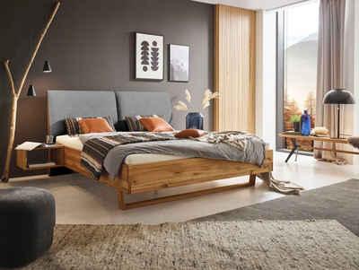 ADA premium Massivholzbett »Gillian«, inkl. Nachttische, wahlweise mit Matratze und Lattenrost
