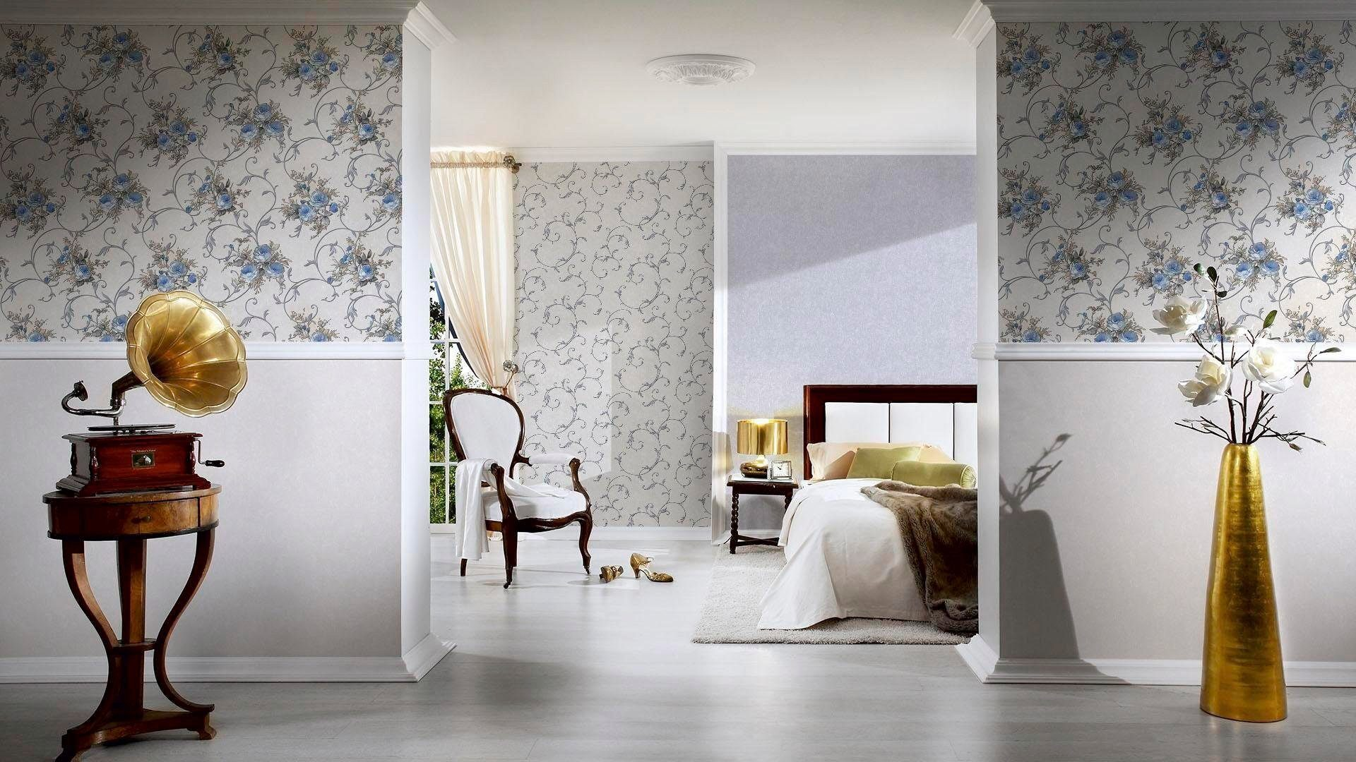 living walls Vliestapete Romantica, Leicht zu verarbeiten / Kleister einfach auf der Wand anbringen online kaufen