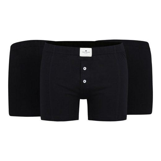 Boxer »Herren Boxer Shorts 3er Pack - Pure Cotton, enge«