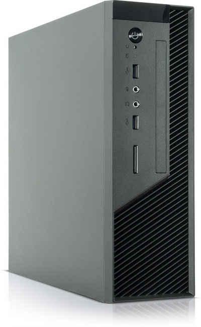 Kiebel Micro X 10 Mini-PC (Intel Core i7 Intel Core i7-10700, HD Graphics, 16 GB RAM, 500 GB SSD, Luftkühlung, WLAN)