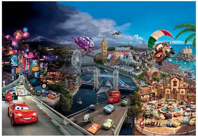Komar Fototapete Disney Cars World 8-teilig