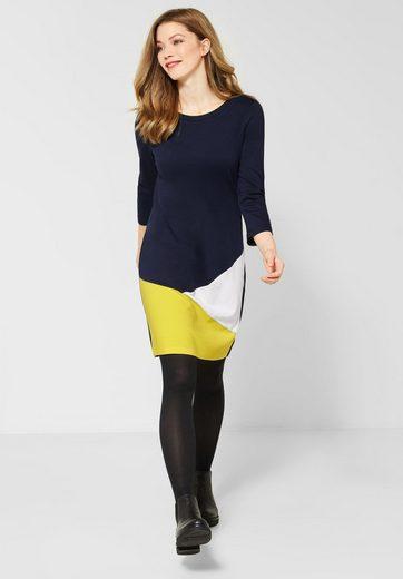 Cecil Jerseykleid im angesagten Colourblock Style
