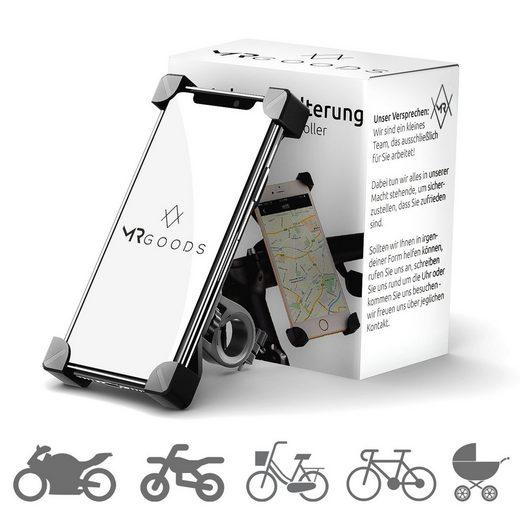 MR Goods »Fahrrad, Fahrradhalterung für Handy, Handyhalter Universal für Iphone Samsung Xiaomi Huawei« Smartphone-Halterung, (bis 7,00 Zoll)