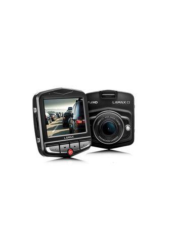 LAMAX »C3« Dashcam (mit komplettem Zubehör)