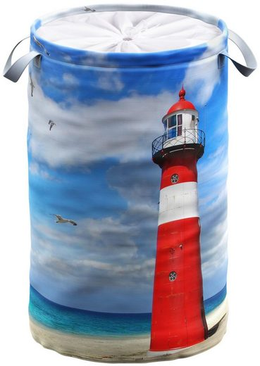 Sanilo Wäschekorb »Leuchtturm«