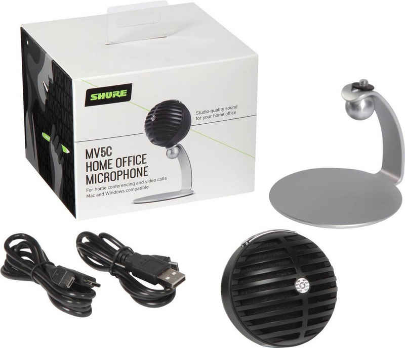 Shure Mikrofon »MV5 MOTIV Homeoffice-Mikrofon«