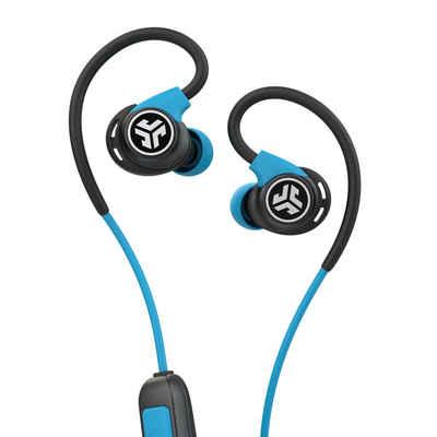JLab Audio »Fit Sport Wireless« Sport-Kopfhörer (Siri, Google Assistant, Bluetooth, bis zu 10 Stunden Akkulaufzeit, Quick Charge, dynamische 10mm-Treiber, IP55, Sound-Equalizer)