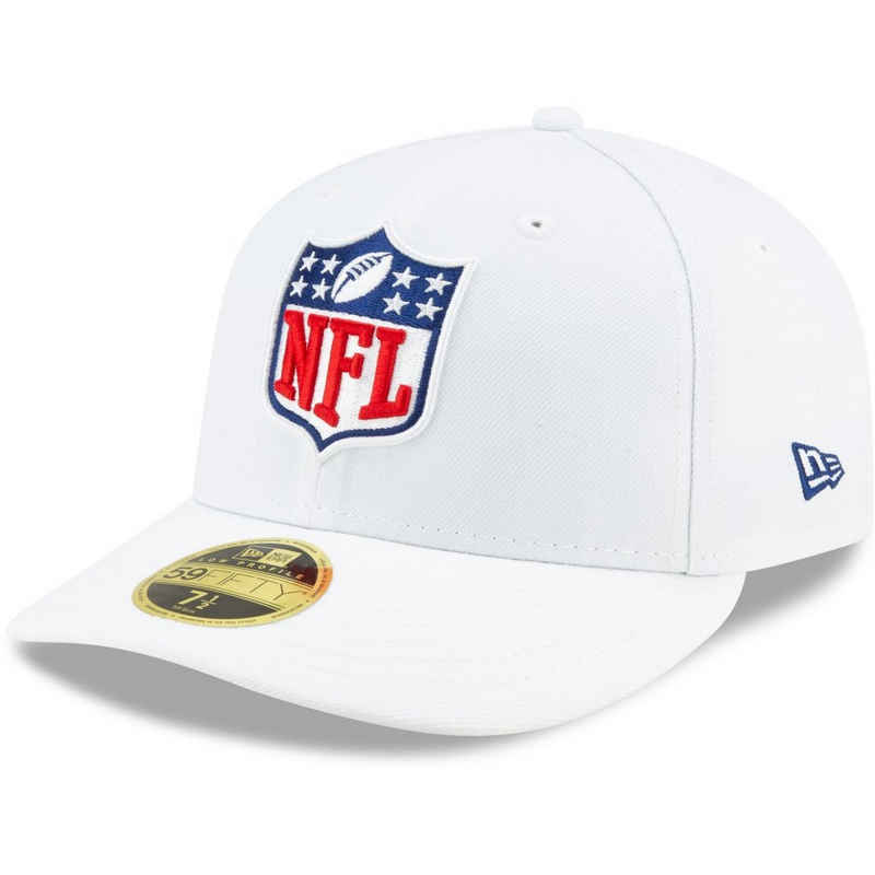 New Era Fitted Cap »59Fifty Low Profile NFL Shield Logo«