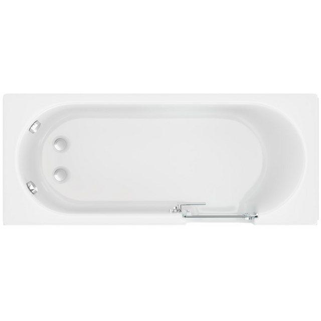 Badewannen und Whirlpools - HAK Badewanne »CASCADE, Badewanne mit Tür«, 150x70cm, rechts  - Onlineshop OTTO