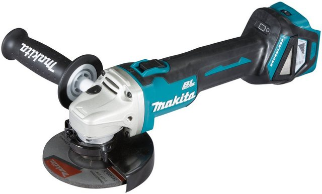 Makita Akku-Winkelschleifer DGA511Z , max. 8500 U min, ohne Akku und Ladegerät