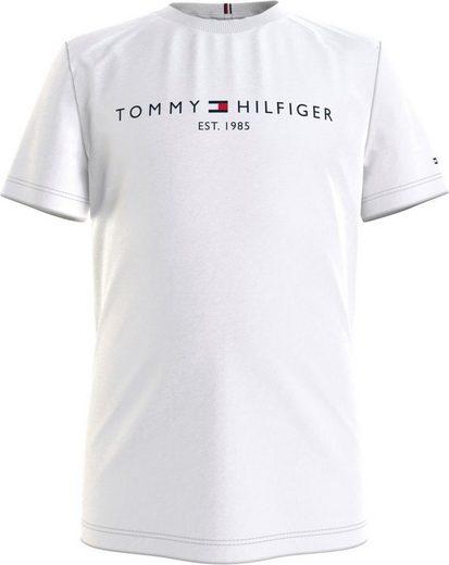 TOMMY HILFIGER T-Shirt mit kleiner Stickerei