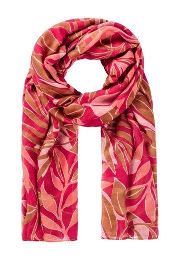 HALLHUBER Schal »Schal mit Blätterprint«