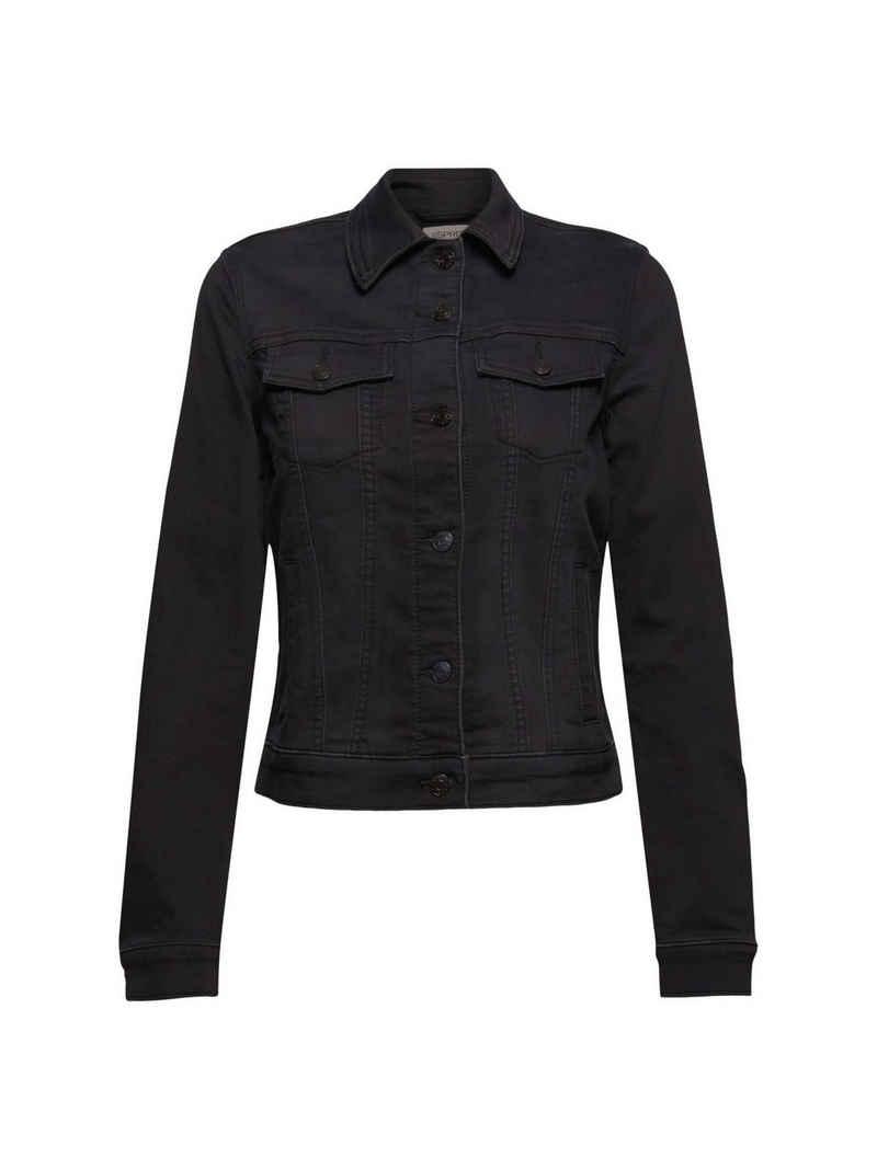 Esprit Jeansjacke »Jeansjacke aus softem Jogger-Denim«