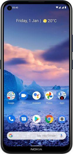 Nokia 5.4 Smartphone (16,23 cm/6,39 Zoll, 128 GB Speicherplatz, 48 MP Kamera)