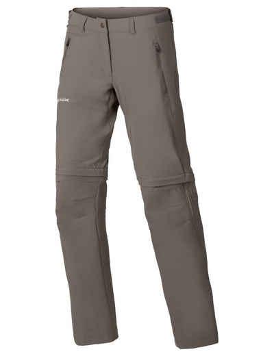 VAUDE Funktionshose »Women's Farley Stretch ZO T-Zip Pants« (1-tlg) Grüner Knopf