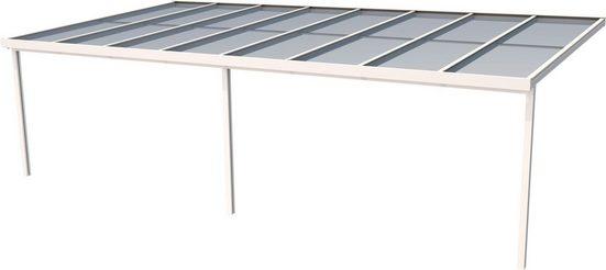 GUTTA Terrassendach »Premium«, BxT: 813x406 cm, Dach Polycarbonat bronce