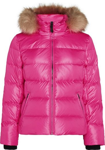 Calvin Klein Daunenjacke »ESSENTIAL REAL DOWN JACKET« mit Fellimitat an der Kapuze