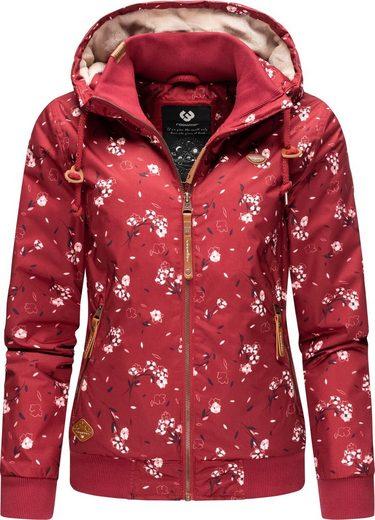 Ragwear Winterjacke »Nuggie Zig Zag« modische Damen Outdoorjacke mit Muster