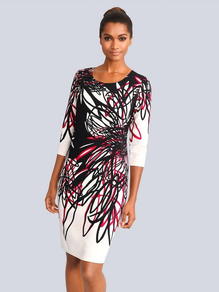 alba moda -  Kleid mit wunderschönem Blumen-Dessin