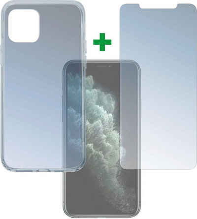 4smarts Handyhülle »360 Grad Protection Set für Apple iPhone 11 Pro« iPhone 11 Pro