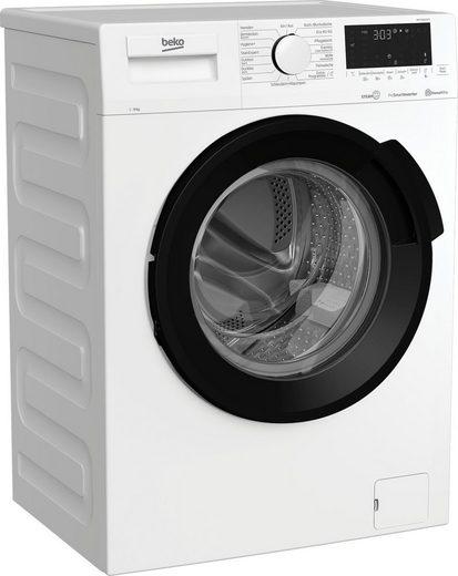 BEKO Waschmaschine WMY91464ST1, 9 kg, 1400 U/min
