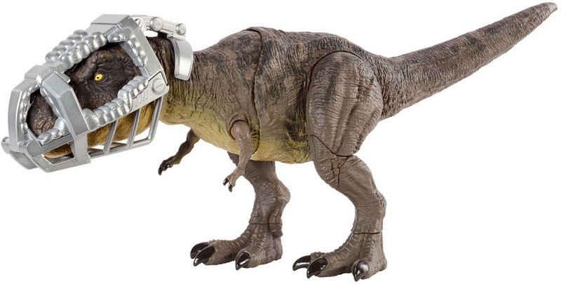 Mattel® Spielfigur »Jurassic World, Stampfender Kampfaction T-Rex«, mit Sound
