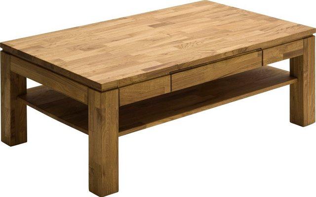 Wohnzimmertische - MCA furniture Couchtisch, Couchtisch Massivholz mit Schublade  - Onlineshop OTTO