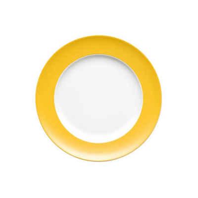 Thomas Porzellan Frühstücksteller »Sunny Day Yellow Frühstücksteller 22 cm«, (1 Stück)