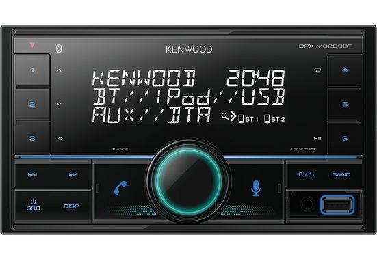 Kenwood Audio-System (Kenwood DPX-M3200BT - 2-DIN Bluetooth, USB, VarioColor, Alexa, Spotify Autoradio)