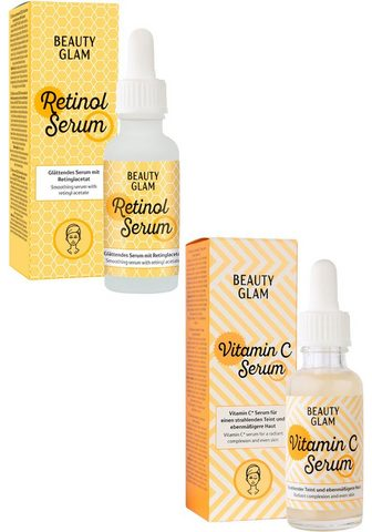 BEAUTY GLAM Gesichtspflege-Set »Vitamin Duo« 2-tlg...
