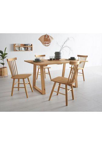 OTTO products Valgomojo stalas »Lennard« iš massiver...